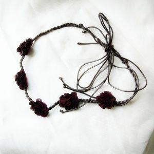 Forever 21 Flower Headband